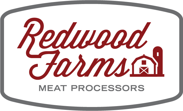 Redwood Farms Meat Processors Logo